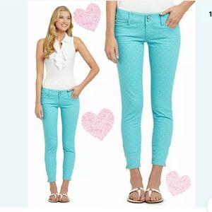 Lilly Pulitzer Polka Dot Worth Skinny Jeans 2